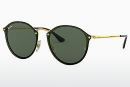 Ophthalmic Glasses Ray-Ban Blaze Round (RB3574N 001/71) - Gold