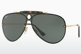 Ophthalmic Glasses Ray-Ban Blaze Shooter (RB3581N 001/71) - Gold
