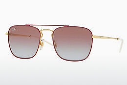 Ophthalmic Glasses Ray-Ban RB3588 9060I8 - Gold, Red