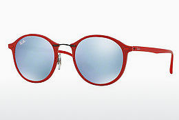 Ophthalmic Glasses Ray-Ban Round Ii Light Ray (RB4242 764/30) - Red