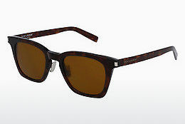 Ophthalmic Glasses Saint Laurent SL 138 SLIM 003 - Brown, Havanna