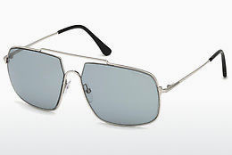 Ophthalmic Glasses Tom Ford FT0585 16A - Silver, Shiny, Grey