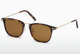 Ophthalmic Glasses Tom Ford FT0672 53E - Havanna, Yellow, Blond, Brown
