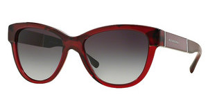 Burberry BE4206 35918G GREY GRADIENTTOP RED HORN ON BORDEAUX