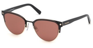 Dsquared DQ0316 01S bordeauxschwarz glanz