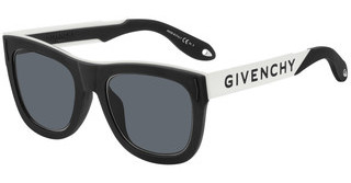 Givenchy GV 7016/N/S 80S/IR GREYBLCK WHTE