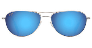 Maui Jim Baby Beach B245-17 Blue HawaiiSilver