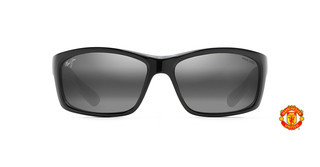 Maui Jim Kanaio Coast 766-34UTD Neutral GreyBlack Gloss +White+Red