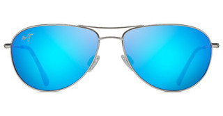 Maui Jim Sea House B772-17 Blue HawaiiSilver