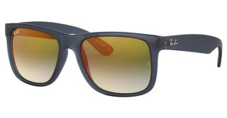 Ray-Ban RB4165 6341T0 BLUE GRADIENT GREEN MIRROR REDTRANSPARENT BLUE