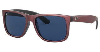 Ray-Ban RB4165 646980 DARK BLUEBORDEAUX METALLIC ON BLACK