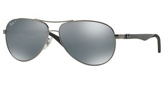Ray-Ban RB8313 004/K6 BLUE MIRROR SILVER POLARSHINY GUNMETAL