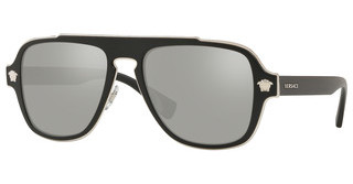 Versace VE2199 10006G LIGHT GREY MIRROR SILVERMATTE BLACK