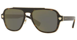 Versace VE2199 12524T DARK GREY MIRROR GOLDDARK HAVANA