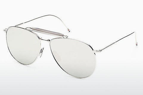 Ophthalmic Glasses Thom Browne TB-015 SLV-LTD